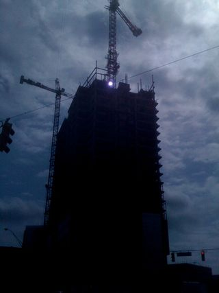 Tower under construction Atlanta