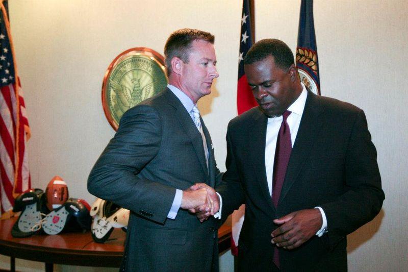 Mayor Kasim Reed, Scott Taylor