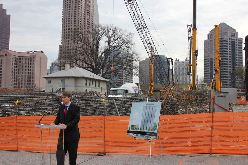 Jim Borders, SkyHouse groundbreaking