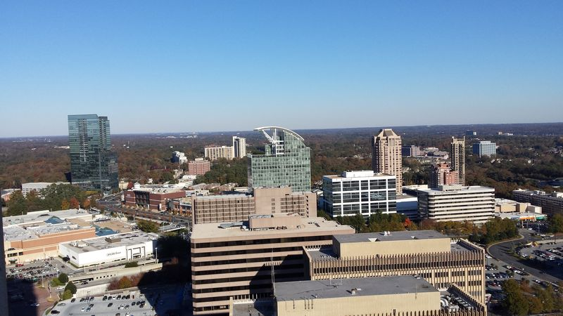 Buckhead Skyline from Mandarin