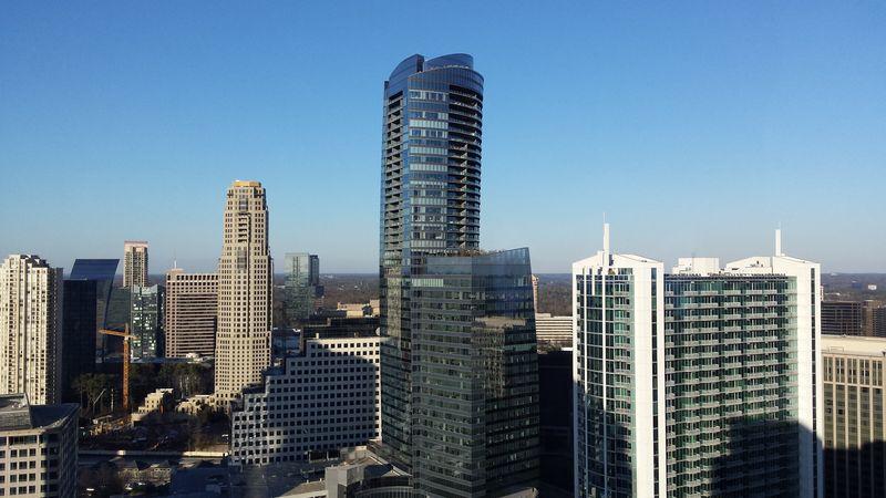 Buckhead Atlanta skyline