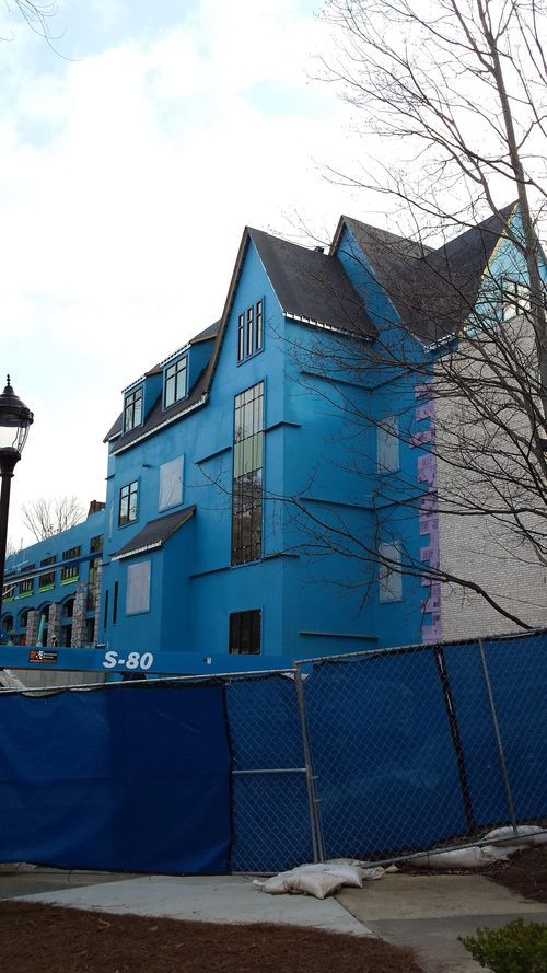 Pace upper school construction