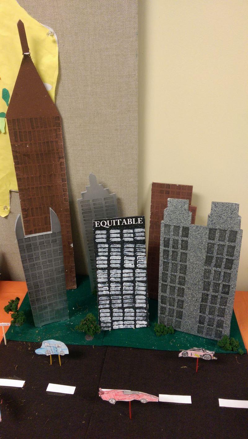 Atlanta skyline Pace Academt