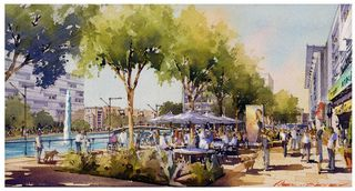 Riverwalk Village Rendering Roswell, Georgia
