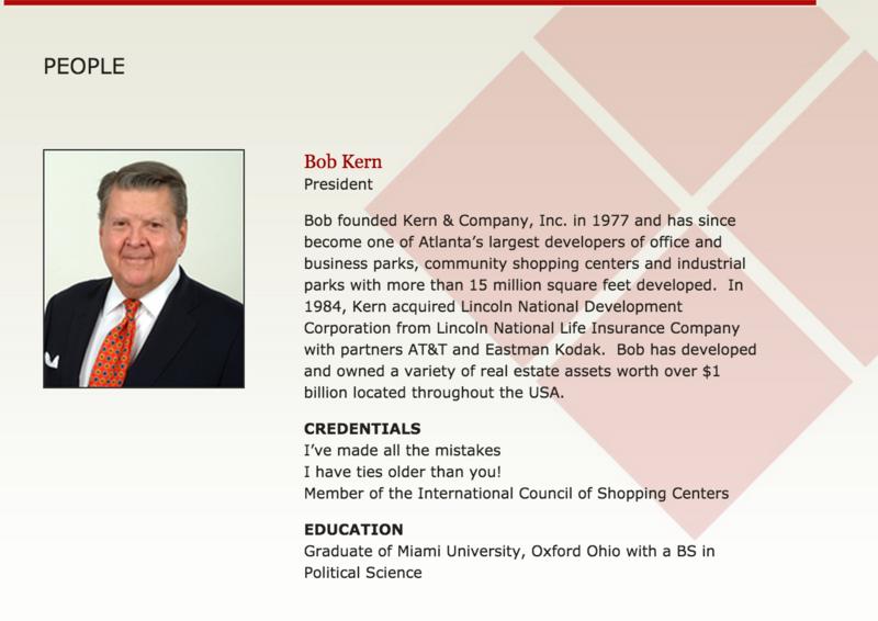 Bob Kern bio