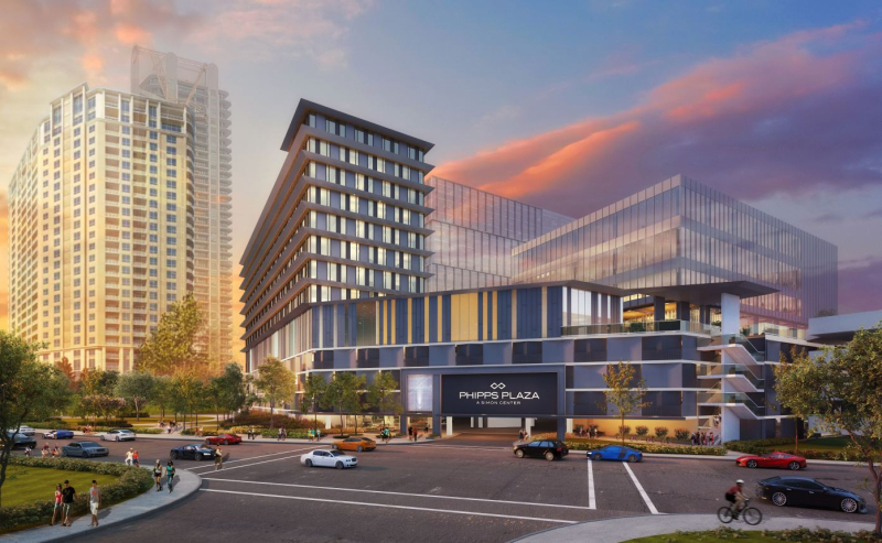 Phipps Plaza Expansion New Rendering